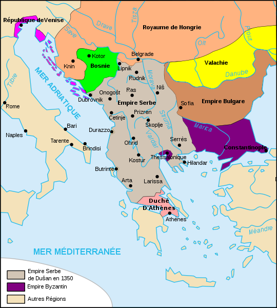 Carte - Empire de Duan