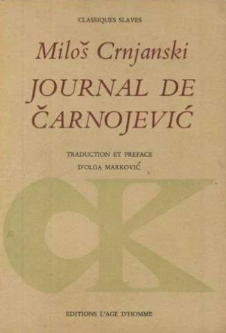Crnjanski - Journal